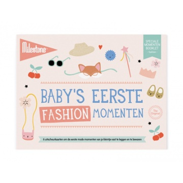 Milestone Special Moments Booklet - Baby's eerste fashion momenten