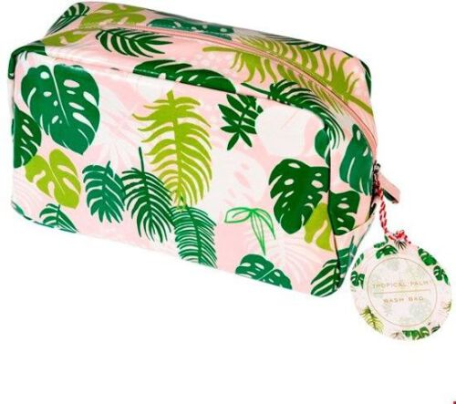 Make-up tasje - Tropical palm