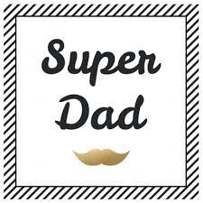 Super dad (servetten)